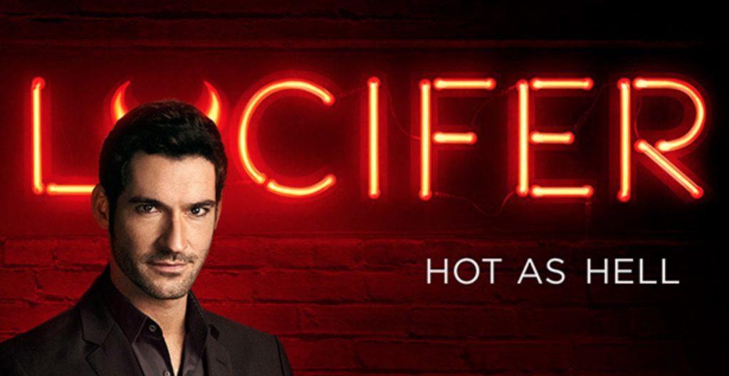 Actor Tom Ellis as Satan in Fox's TV series Lucifer